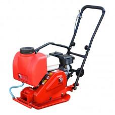 Виброплита бензиновая DIAM VM-60/5.5H (двигатель Honda GX160, уплотнение 200 мм, масса 60 кг)